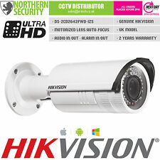 Hikvision 4MP 2.8-12mm Motor Auto Zoom POE P2P Outdoor IP Security Kamera