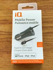 iQ Mobile Power Rapid In-Car Charger – iPhone, iPad, iPod