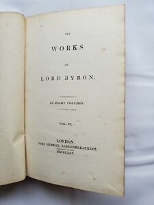 The Works of Lord Byron 1825 Vol 6
