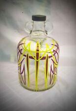 More details for custom pinstriped glass demijohn bottle 5pt hotrod rat rod usa vw christmas gift