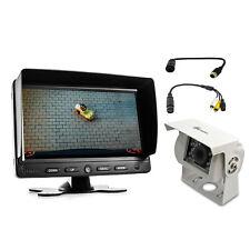 Carmedien Rückfahrsystem CM-WRFS für Waeco Rückfahrkamera Anschlusskabel Adapter