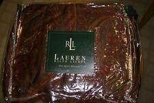 Ralph Lauren GREAT BARRINGTON Paisley QUEEN Ruffled BEDSKIRT - New