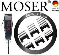 "MOSER PROFI HAARSCHNEIDER 1400 EDITION 0,1MM - 25MM + 6 AUFSTECKKÄMME""NEU""OVP"""