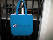 NWT Marc Jacobs  MTV Canvas Tote Bag TURQUOISE  MULTI