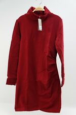 Bench Damen Kleid Slim Funnel rot Weinrot NEU Sport Dress Gr. XL #580