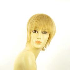 Perruque femme courte blond clair doré CANDICE LG26