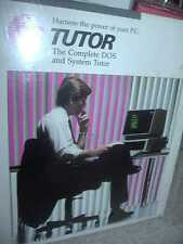 DS TUTOR for DOS software on floppy disk UNOPENED  harness the power of DOS