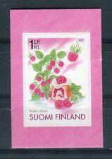 Finlandia /Finland 2007 Frutta lamponi autoadesivo MNH