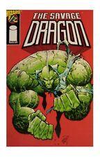 The Savage Dragon Wizard #1/2 (May 1997, Image / Wizard) Eric Larsen NM with coa