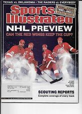 Bret Hull Red Wings hockey Sports Illustrated Oct. 14, 2002