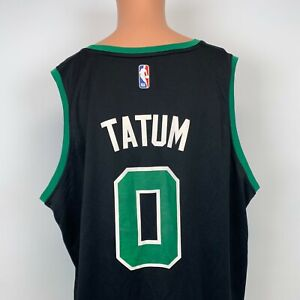 Jayson Tatum Boston Celtics Fast Break Jersey Fanatics NBA Basketball Black 2XL