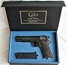 PISTOL GUN PRESENTATION CUSTOM DISPLAY CASE BOX for COLT m1911 government.45 ACP