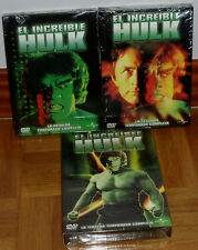 EL INCREIBLE HULK 1-2-3 TEMPORADAS COMPLETAS 16 DVD NUEVO SERIE (SIN ABRIR) R2