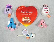 GIANT MICROBES-HEART WARMING THEME BOX-Egg Sperm Penicillin Kissing Mono Amoeba
