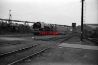 PHOTO  STANIER 'DUCHESS' PACIFIC 46255 'CITY OF HEREFORD' CREWE WORKS JULY/AUGUS