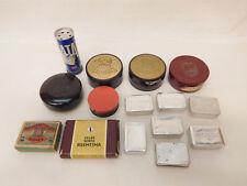 ESF-03346Posten ältere Dosen und Schachteln, verschiedene Materialien