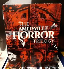 The Amityville Horror Trilogy Blu-ray Box Set Scream Factory RARE OOP!