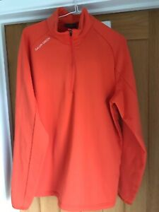 Galvin Green Mens Insula Top - Orange