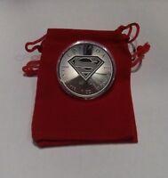 2016 Silver 1 oz. Superman BU Coin with Extras