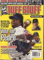 Tuff Stuff Magazine August 2006 Pedro Martinez Sealed 072217nonjhe