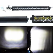 """90W 6300LM 19"""" White Waterproof Offroad Work Flood Spot Combo LED Bar Lamps UTE"""