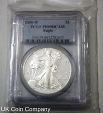 2008 United States Pcgs 1oz Silver Proof Eagle Graded Pr69 Dollar Coin