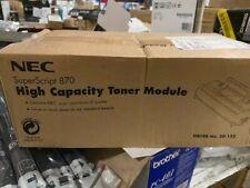 NEC SuperScript 870 / High Capacity Toner Module Order No. 20-122