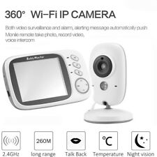 3.2 LCD Babyphone mit Kamera Funk Audio Video Monitor Monitor Digital Kamer DHL