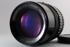 Excellent+++++ Nikon Nikkor P C 200mm F/4 Telephoto MF Lens for Bronica S2 EC TL