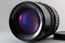 Excellent+++++ Nikon Nikkor P C 200mm F/4 Telephoto MF Lens for Bronica S2 EC TL