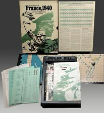 France 1940: German Blitzkrieg in the West- by Avalon Hill- Vintage 1972 Wargame