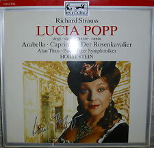 LP Richard Strauss Lucia Popp singt-Bamberger Symphoniker,NM,Digital Eurodisc