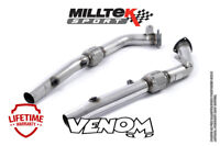 Milltek Exhaust DeCat Pipes for Audi RS4 B7 4.2 V8 Saloon Estate SSXAU285