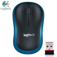 Logitech M186 Wireless Mouse w/ Nano Receiver - Blue AU Post Upgraded Version