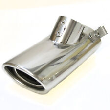 Car Tuning Chrome Exhaust Pipe Muffler Tail Tip Trim For Mercedes W220 S Class