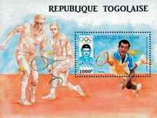 Timbre Sports JO Tennis Togo BF263 ** lot 23100