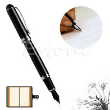 JINHAO X750 FOUNTAIN PEN Black shimmering sands Medium NIB High Quality