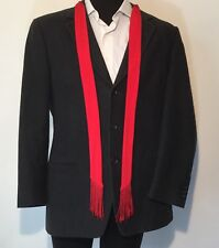 Ermenegildo Zegna $1100 Charcoal Gray Corduroy Sport Coat Blazer 42R Wool 0049