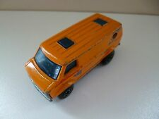 Chevy Van - Matchbox - Lesney - SuperFast - 1979 - Orange - England