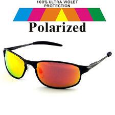 Polarized Polarised Lens Car Driving Fishing Sport Golf Sunglasses & Case POL704