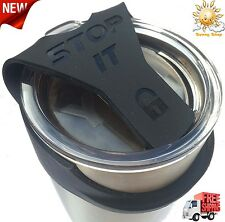 No Spill fits 20oz YETI And Ozark Trail Better Than a Leak or Spill Proof Lid