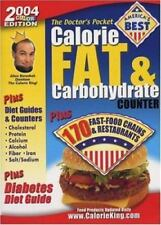 The Doctor's Pocket Calorie, Fat & Carbohydrate Counter 2004: Plus 170 Fast-Food