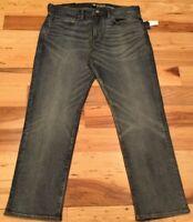 Gap Men's 38 X 30 Denim ( Slim Stretch ) Jeans. Medium-Wash Denim Pants. Nwt
