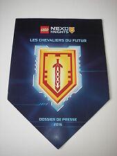 Dossier de presse 2016 LEGO Les chevaliers du futur