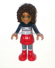 Lego Friends MiniFigure, ANDREA w/ Red Skirt & Sweater Top 41102 Advent 2015 New