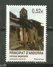 ANDORRA  Edifil # 316 ** MNH Set. Patrimonio turístico Nacional