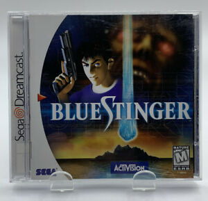 Blue Stinger for SEGA Dreamcast Complete CIB NTSC By Activision