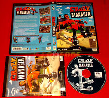CRAZY MANAGER Pc Versione Ufficiale Italiana ○ COMPLETO - E9