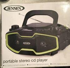 Jensen Portable Stereo CD/MP3 Player - Black (CD-575) Open Box