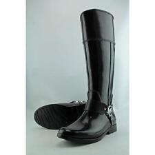 Michael Michael Kors Fulton Harness Tall Rainboot Women US 8 Pre Owned  1026